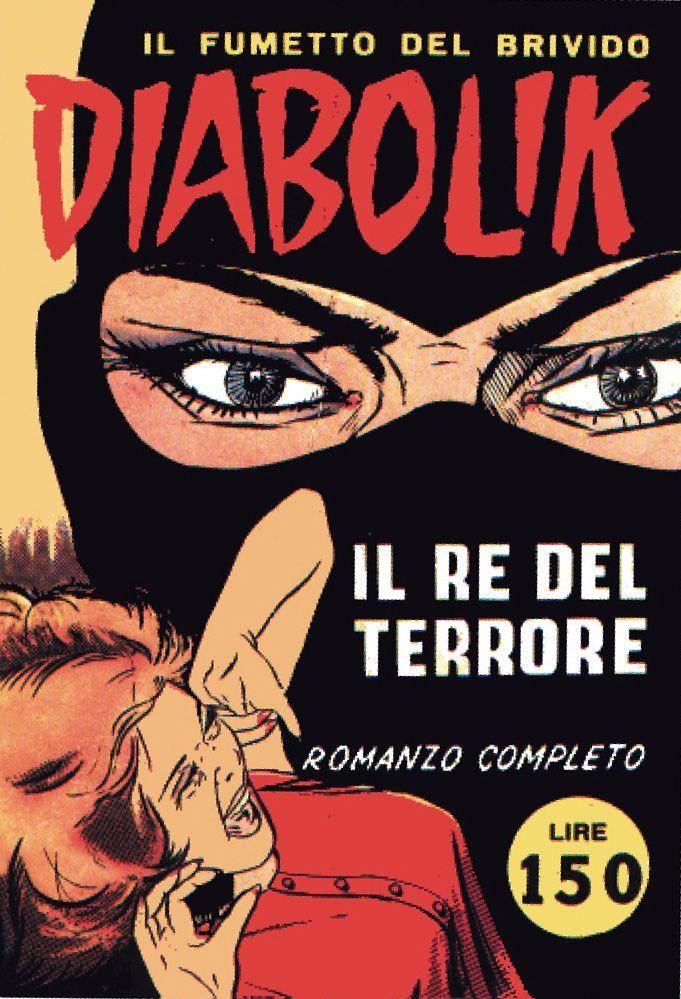 #Diabolik. Il Re del terrore n.1 - 1962