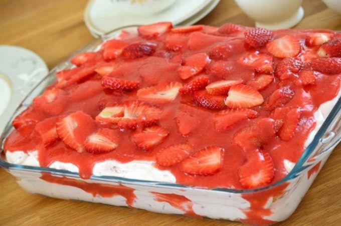 Erdbeertiramisu | Top-Rezepte.de