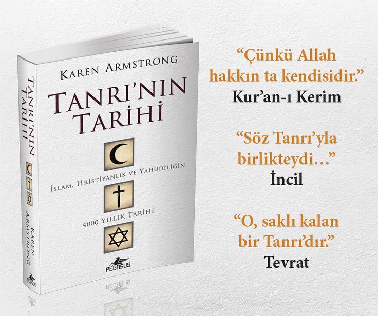 İslam, Hristiyanlık ve Yahudiliğin 4000 yıllık tarihine bakmaya hazır mısınız?  Klasik felsefeden Orta Çağ Mistisizmi'ne, Reformasyon'dan Aydınlanma'ya ve modern çağın kuşkuculuğuna, Karen Armstrong'un tek tanrılı dinlerin entelektüel tarihini tek bir ciltte toplamış olması bir mucize gibidir. #TanrınınTarihi /