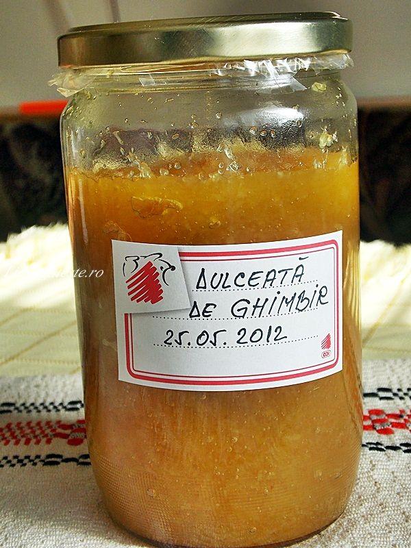 Dulceata naturala de ghimbir
