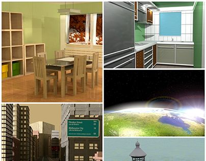 """Check out new work on my @Behance portfolio: """"3D Collection (Blast from the past)"""" http://on.be.net/1n5WwWt"""