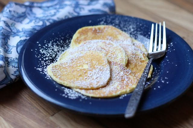 Delicate Cream Cheese Pancakes recipe (gluten-free)