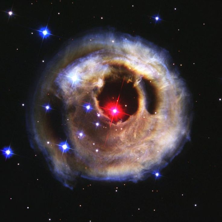 Light Echoes From Red Supergiant Star V838 Monocerotis    http://gdnunes.hubpages.com/hub/Hubble-Space-Telescope-A-Journey-From-Embarrassment-to-Excellence