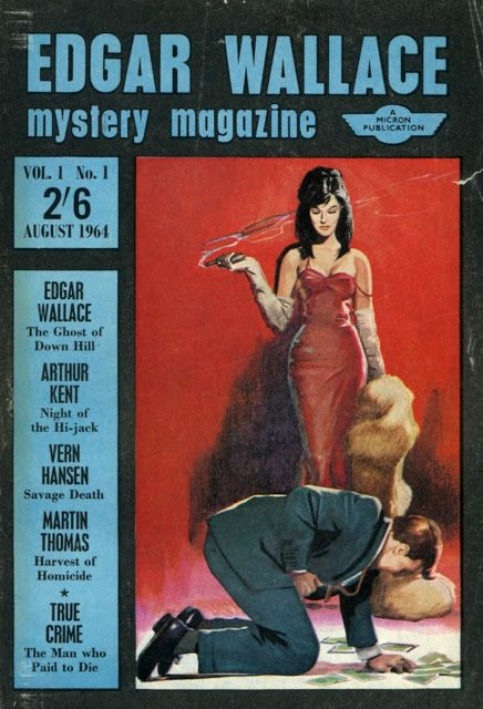 Edgar Wallace Mystery Magazine #1 from Killer Covers