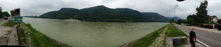 Danube River, Wachau Valley, Austria in Sankt Johann im Mauerthale, Niederösterr.