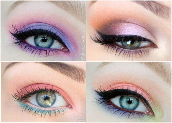 Un maquillage pastel pour le printemps #maquillage #eyemakeup #pastel