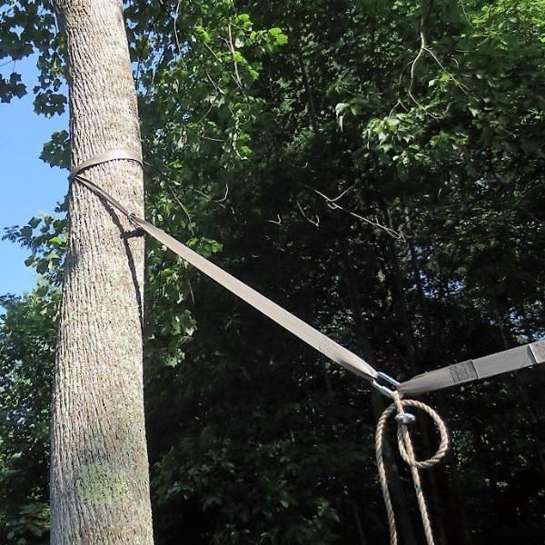 Swing Hanging Kit Between 2 Trees In 2020 Wood Tree Swing Tree Swing Hanging
