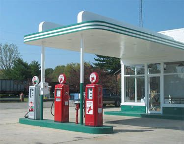 old gas stations | Musing Potpourri: Blast from the Past: Gas Prices