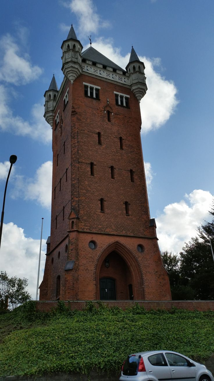 old Water Tower in Esbjerg, Denmark (2015)