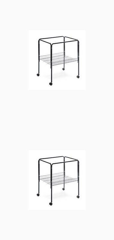 Cage Stands 116360: Prevue Pet Bpv2521s Bird Cage Stand For Base Cages Black -> BUY IT NOW ONLY: $64.74 on eBay!