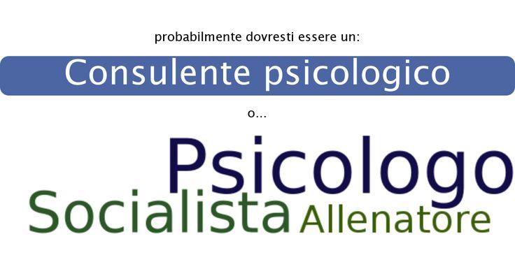 Il mio risultato è: Consulente psicologico.