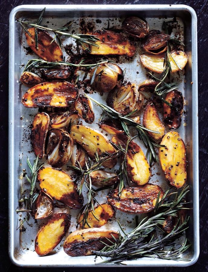 Balsamic Baked Potatoes.