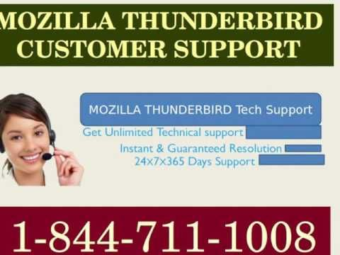 Mozilla Thunderbird Technical Support Number provides toll free Mozilla Thunderbird customer service phone number so that users can get in touch with them whenever necessary.