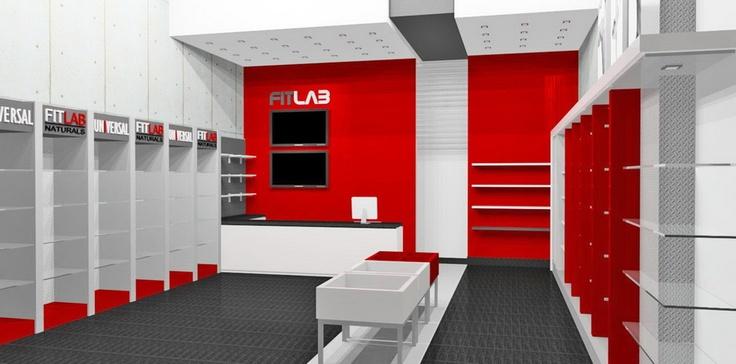 Render - Local FitLab #LaVela. Arcki Taller de Arquitectura http://www.arcki2.com.ve