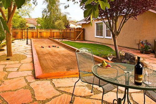 Bocce Court Design, Pictures, Remodel, Decor and Ideas - page 3