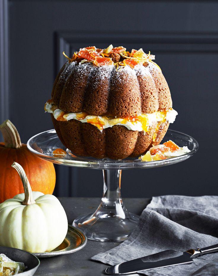 Great Pumpkin Bundt Cake Pan In Season Fall Pinterest