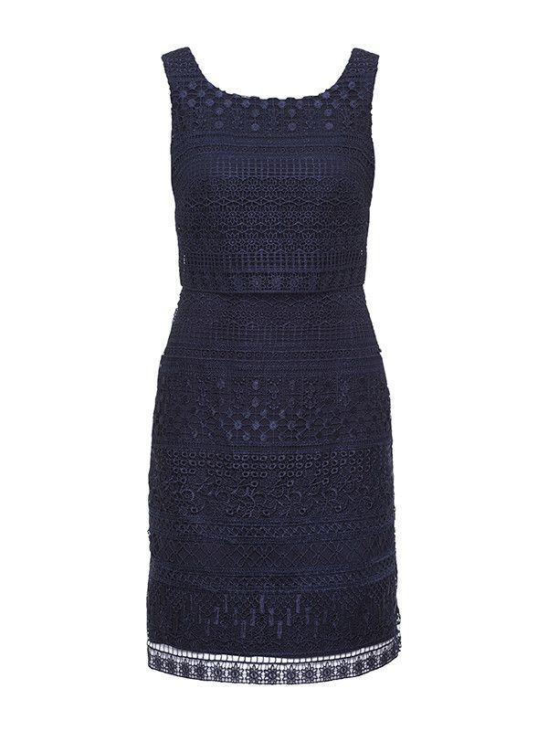 Review Australia - Zinnia Dress in Navy | Shop Dresses Online today at Review