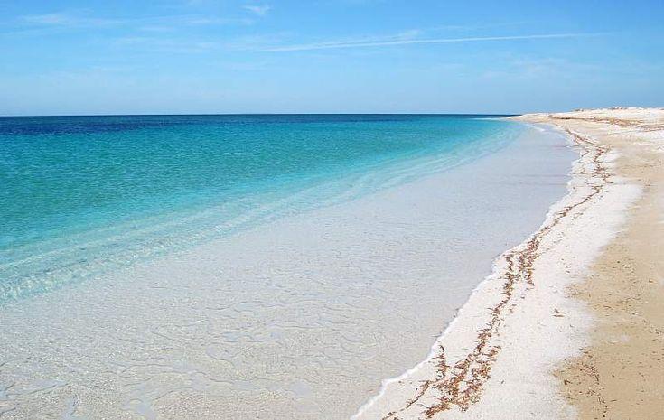 Spiaggia di Mai Mone, Cabras, Sardegna