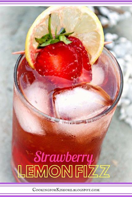 Strawberry Lemon Fizz