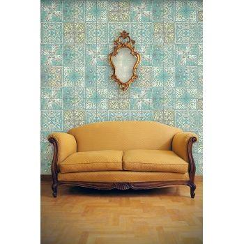 Papier peint patchwork jade de louise body jade patchwork and html - Papier peint patchwork ...