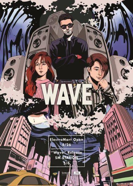 NEWS: LUNA X AMBER X DJ R3HAB - WAVE SM Ent. открывают новый лейбл ScreaM Records, который направлен на EDM (электронная танцевальная музыка). Открытие Electro Mart состоится 26 апреля.