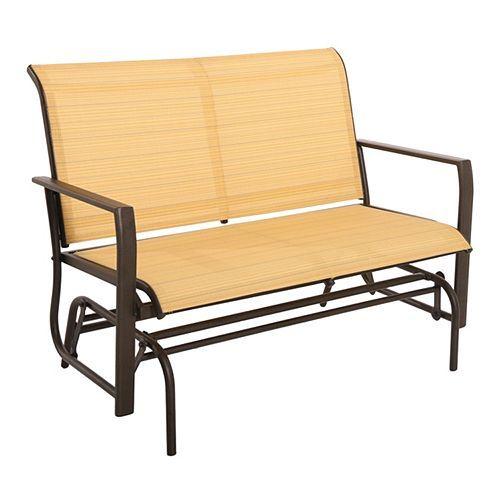 Sonoma outdoors coronado loveseat glider home for Outdoor furniture kohls