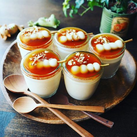 もっちりふるんふるん~♪みたらし豆乳ぷりん♪ | しゃなママオフィシャルブログ「しゃなママとだんご3兄弟の甘いもの日記」Powered by Ameba