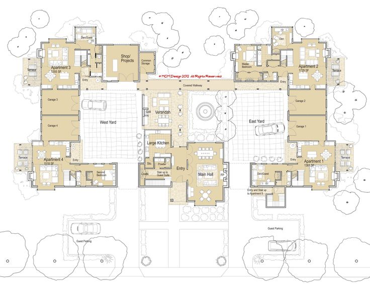 Hacienda mcm design co housing manor plan home Hacienda homes floor plans