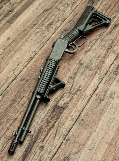 Love the direction Mossberg has gone with their new line of lever guns. An updated version of their original intent.