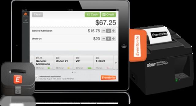 Eventbrite hops on the mobile Card reader bandwagon