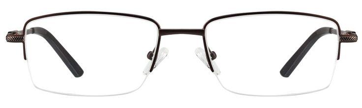 BuyIdee 954 C3 Matte Brown Eyeglasses #UnisexbrownEyeglasses #IdeeEyeglasses #Opticvilla