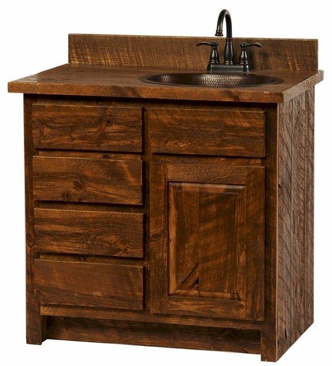 Bathroom Vanities Rustic Home Design Ideas And Inspiration