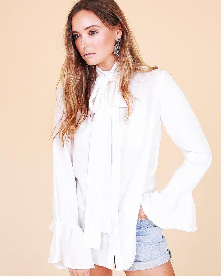 Bohemian White Shirt