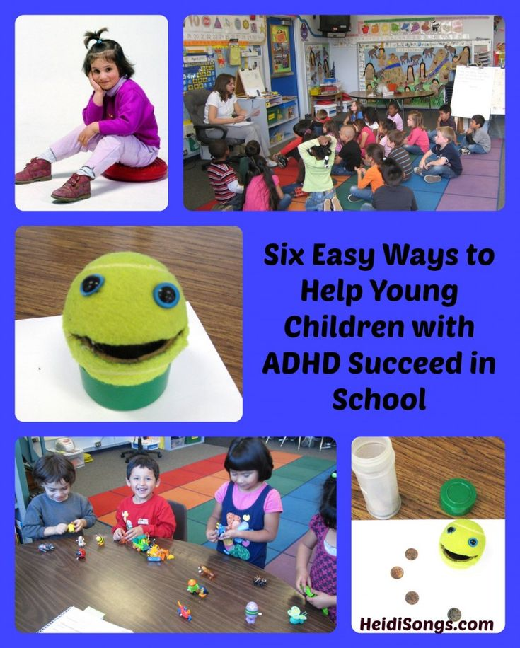 Six Easy Ways to Help Children with ADHD Succeed in School