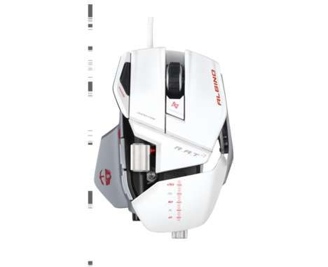 Hardcore Gaming Mice  The Cyborg R.A.T. 7 Mouse for Gamers is Serious About Winning