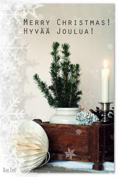 Hyvää Joulua / Merry Christmas