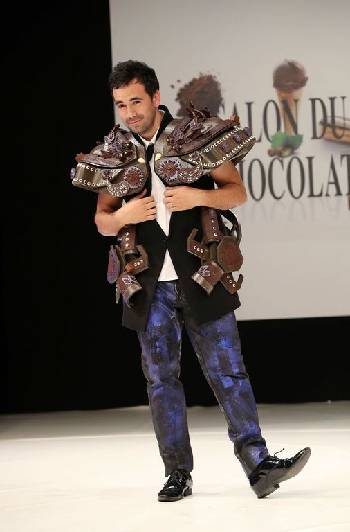 Alex Goude au Salon du Chocolat le 27 octobre 2016 à Paris