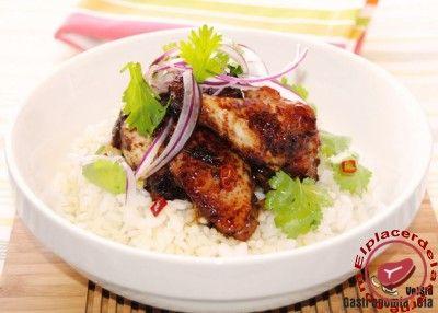 Alitas de pollo con salsa teriyaki - Comunidad de Blogs de Recetas de Carnes
