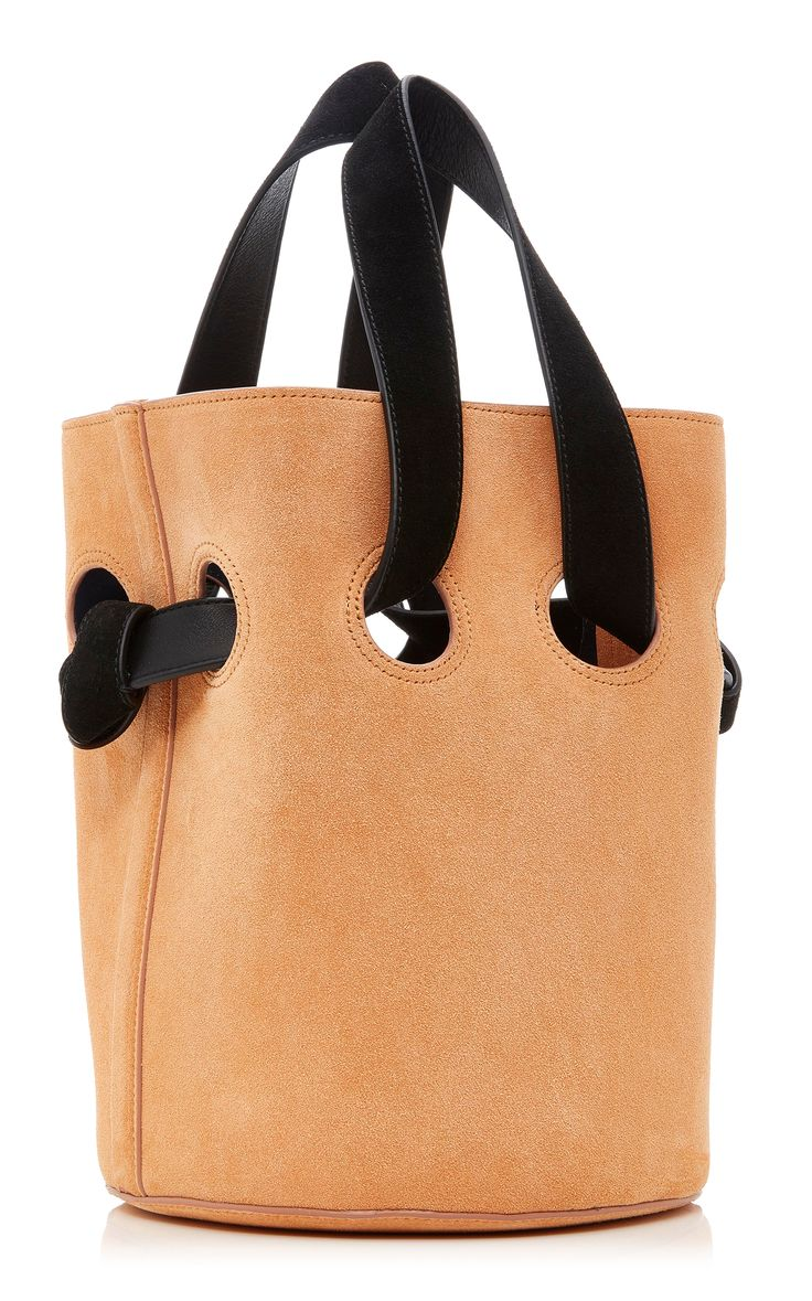 Trademark Goodall Suede Bucket Bag http://www.allthingsvogue.com/best-stylish-tote-bags/