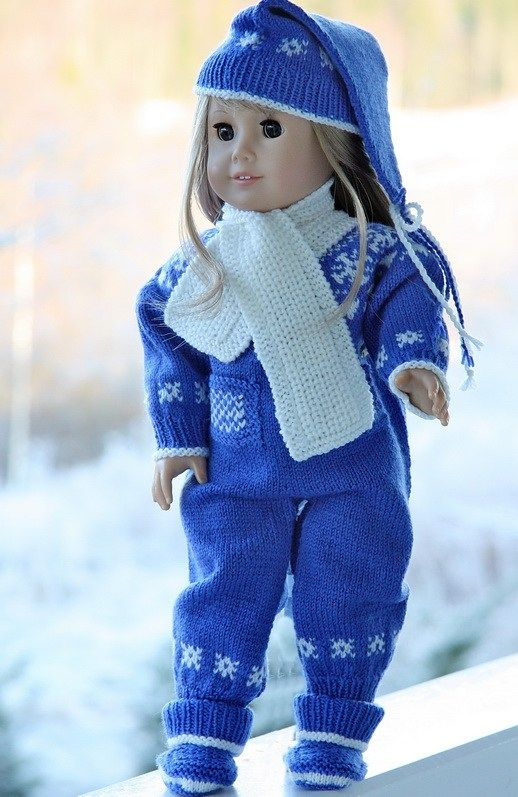 knitting patterns doll clothes Knitted Doll Clothes ...