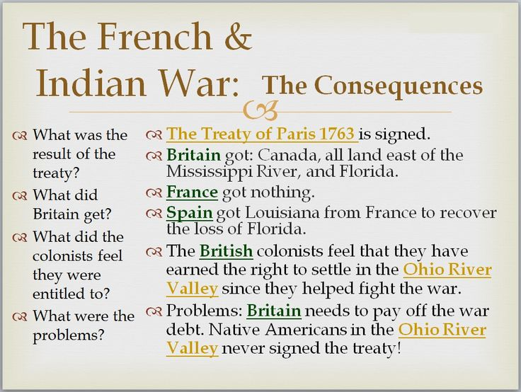 a brief history and analysis of the french and indian war In this unit students will develop a thorough knowledge of the french and indian war through themes related to the french and indian war include: american indian history, the age land ownership, the seven years' war, english and french colonial conflict, the iroquois.