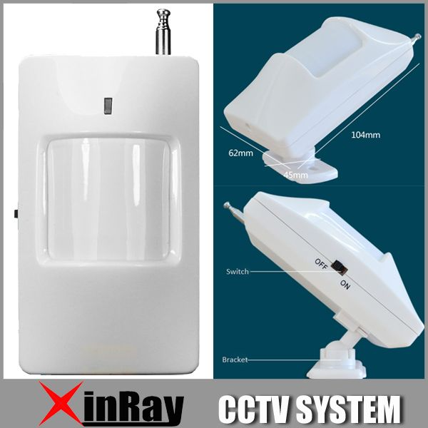 Wireless PIR Sensor Motion Detector 315Mhz For Home PTSN GSM Alarm System  Security Accessories PS01 #
