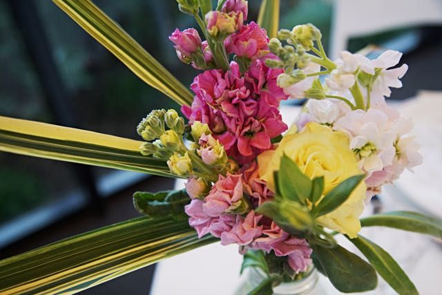 Palm Springs flower arrangement