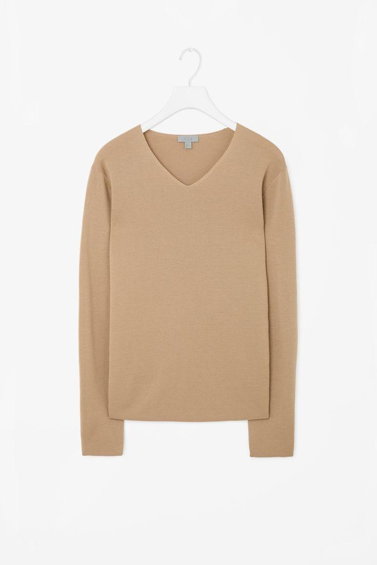 COS | Clean-edge merino jumper