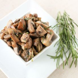 Portobello Sauteed Mushrooms   – Foodspiration
