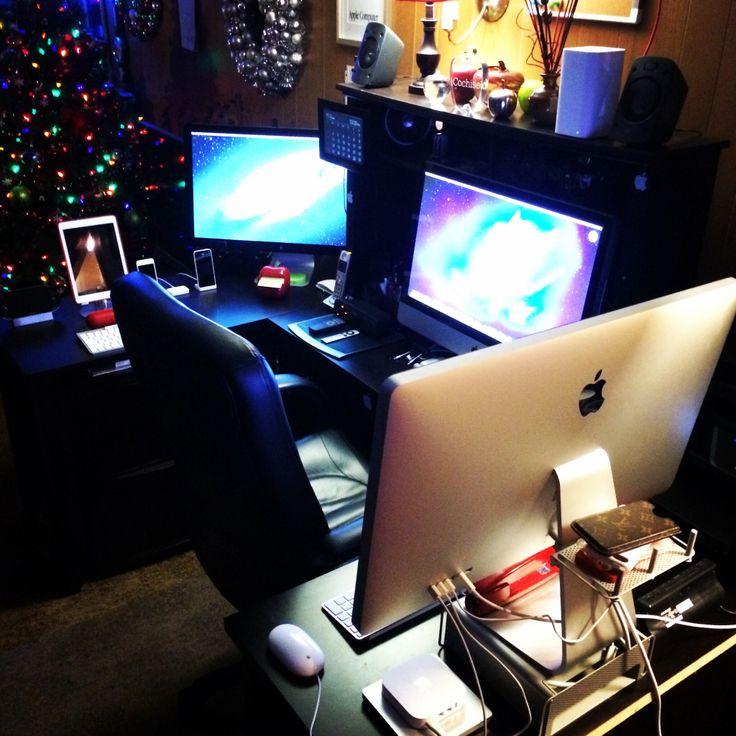 My apple setup office setup pinterest for Office setup ideas