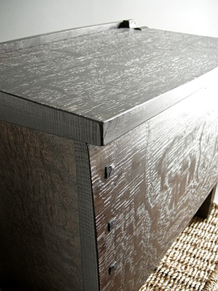 Black Cleft Oak Box Front. Tree FurnitureBig ...