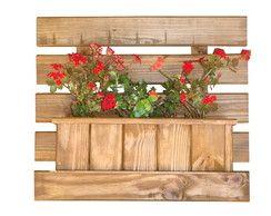 Floreira de Parede 60x52,5 em madeira