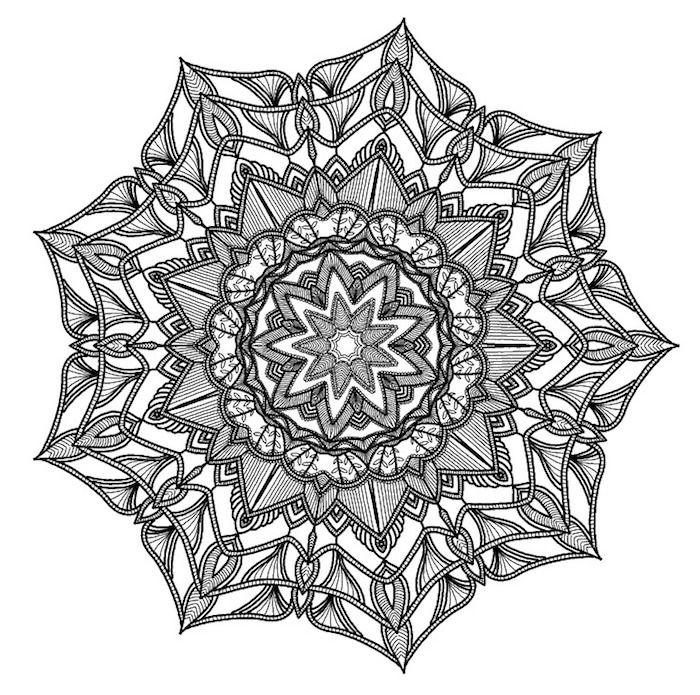 1001 Coole Mandalas Zum Ausdrucken Und Ausmalen Mandalas Zum Ausdrucken Mandala Muster Mandala Malen Anleitung