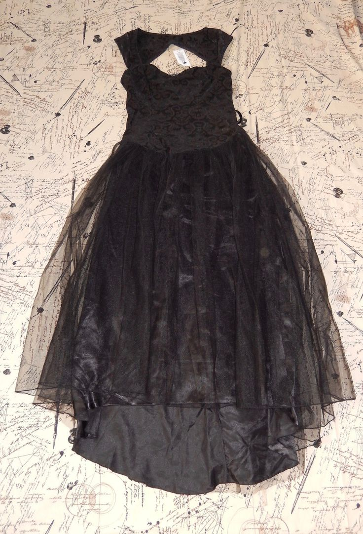 LIP SERVICE (Hot Topic) long dress #45-121-HT